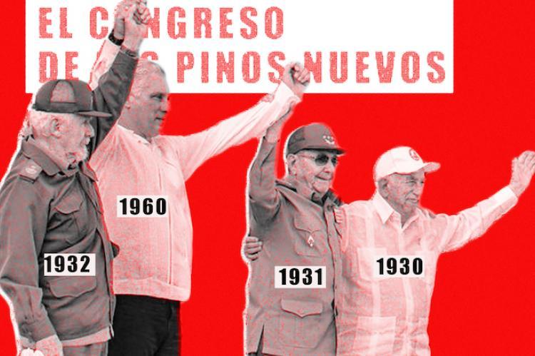 Ilustración: VIII Congreso del PCC. DIARIO DE CUBA