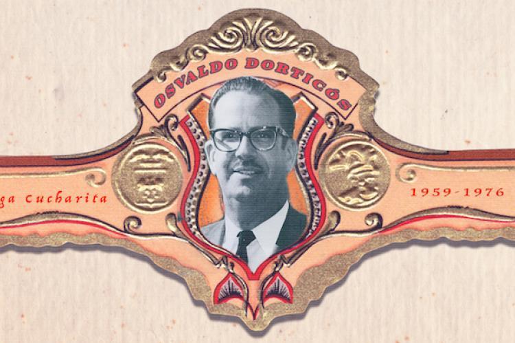 Ilustración. Osvaldo Dorticós. DIARIO DE CUBA