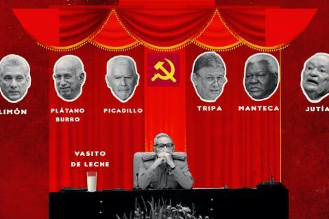 Ilustración: Raúl Castro. DIARIO DE CUBA